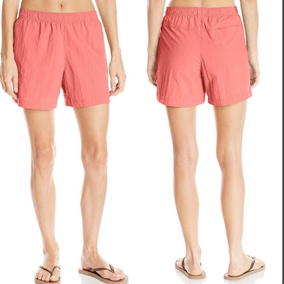 Columbia Pants - Columbia Sandy River Short in Coral Bloom